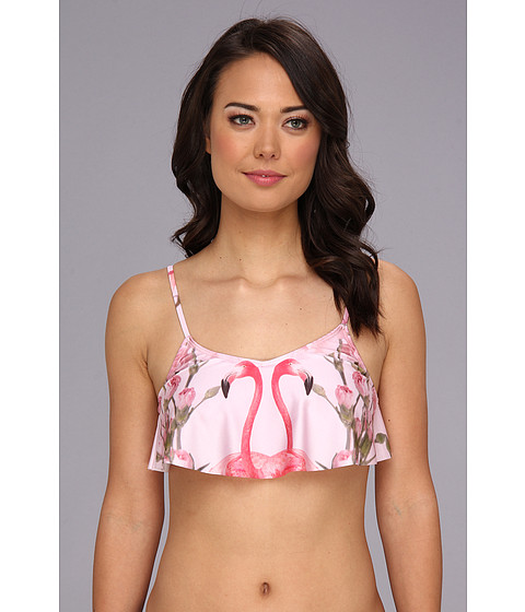 Wildfox - The Two Flamingos Tankini Top (Florida Garden) Women