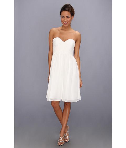Donna Morgan - Morgan Sweetheart Dress (White Lily) Women
