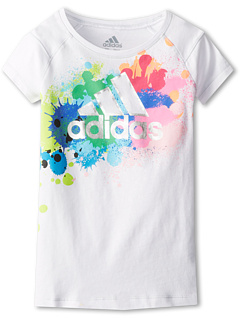 SALE! $11.99 - Save $8 on adidas Kids Crazy Tee (Infant Toddler Little Kids) (White) Apparel - 40.05% OFF $20.00