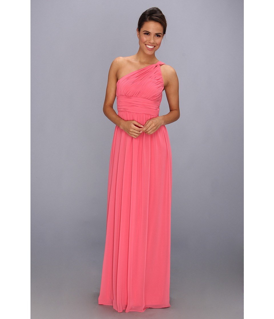 Donna Morgan - One Shoulder Strapless Gown - Rachel (Honeysuckle) Women's Dress