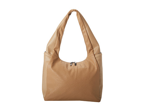 French Connection - Zip Code Hobo (Tahini Tan) Hobo Handbags