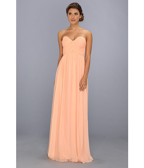 Donna Morgan - Laura Gown (Peach Fuzz) Women's Dress