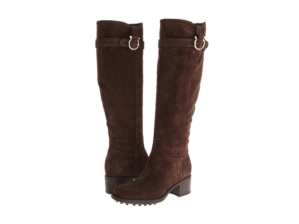 Salvatore Ferragamo - Robespierre (Cacao Mvit New Vip Suede) Women's Boots