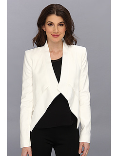SALE! $186.99 - Save $61 on BCBGMAXAZRIA Lloyd Woven Sportswear Jacket (Off White) Apparel - 24.60% OFF $248.00