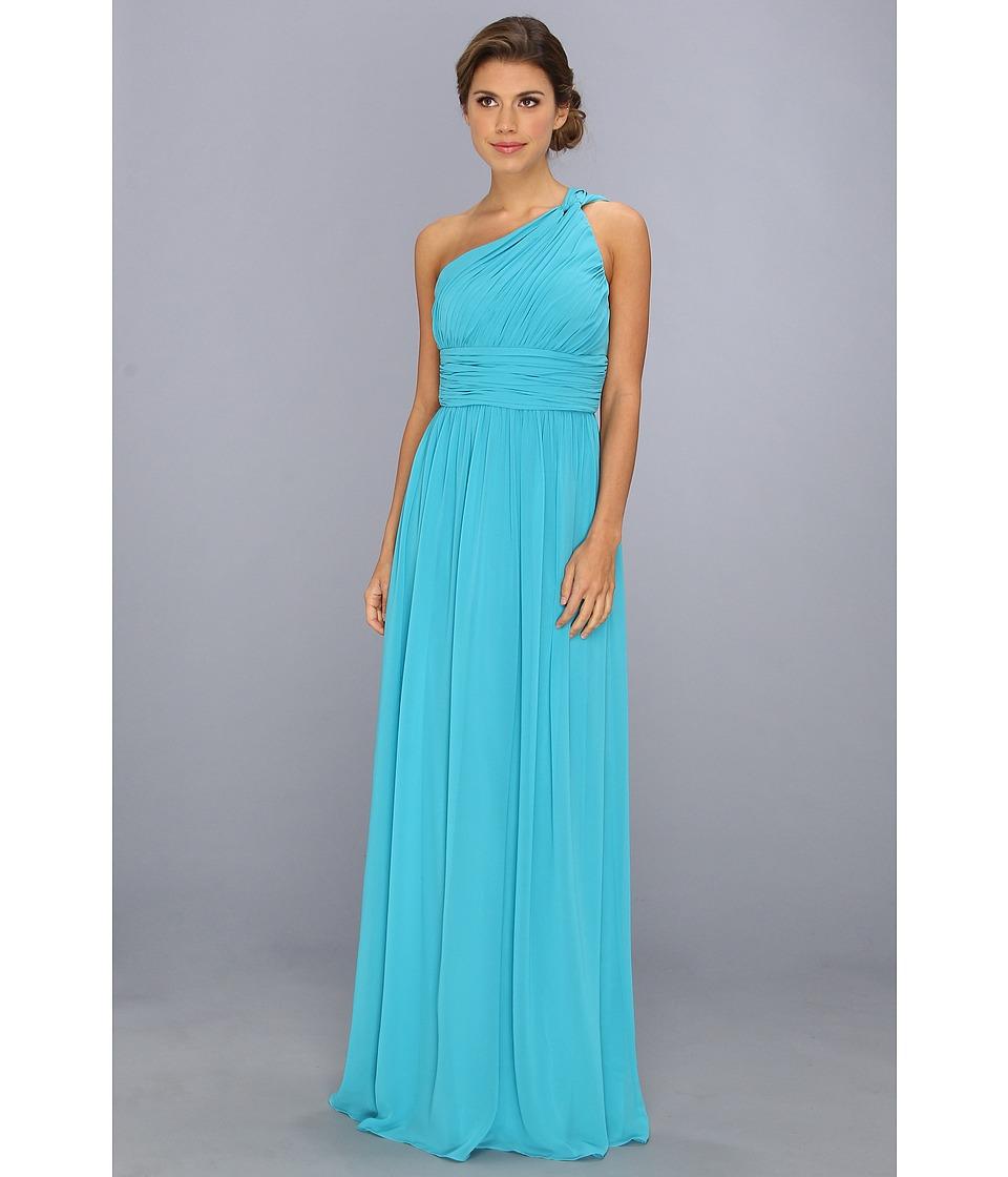 Donna Morgan - One Shoulder Gown - Rachel (Blue/Green) Women's Dress