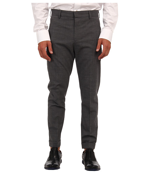 McQ - New Peg Leg Trouser (Grey Melange) Men's Casual Pants