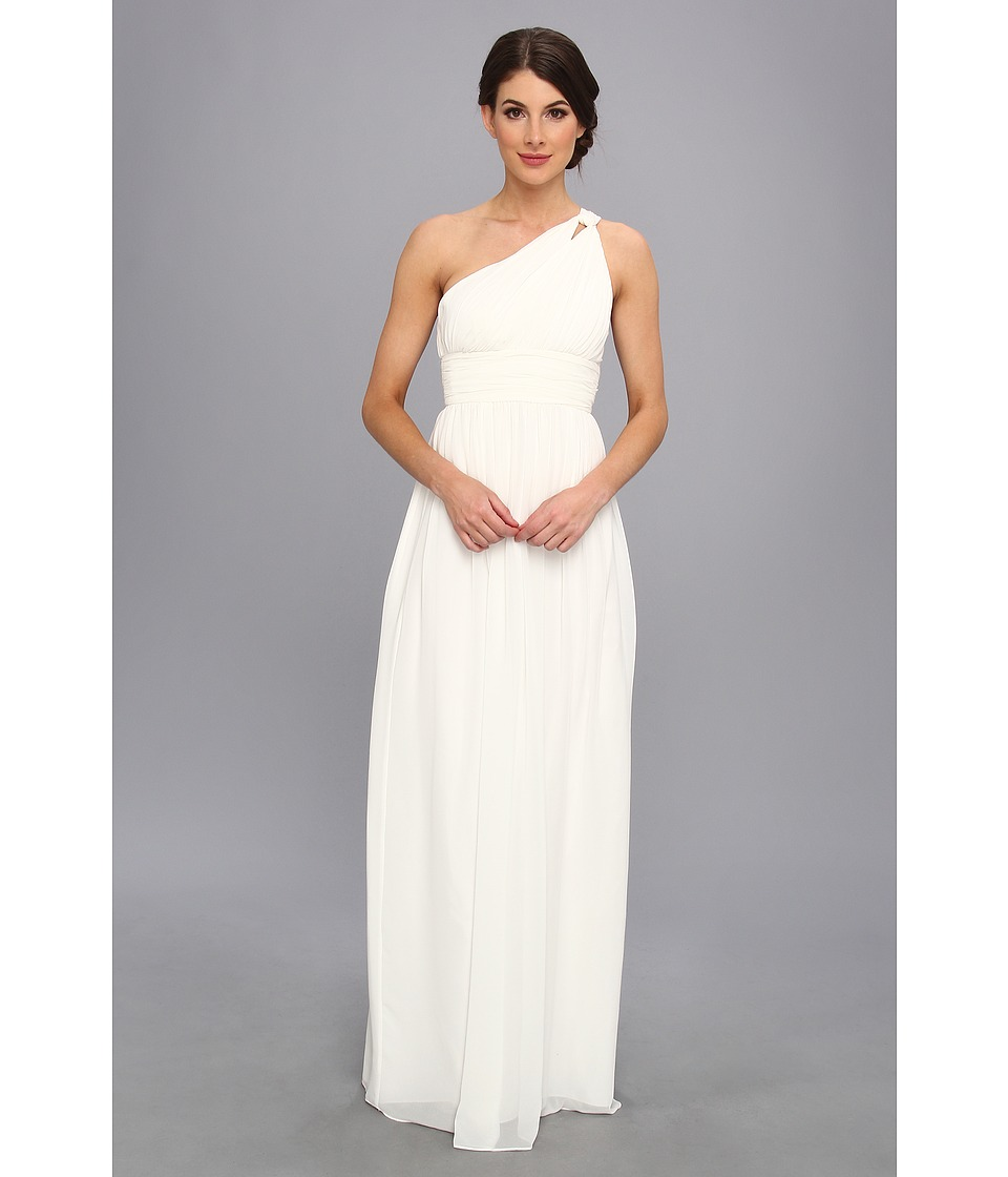 Donna Morgan - One Shoulder Gown - Rachel (White Lily) Women's Dress
