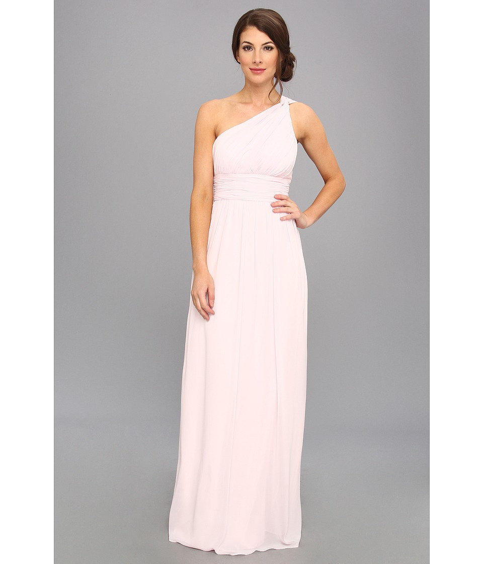 Donna Morgan - One Shoulder Strapless Gown - Rachel (Petal) Women's Dress