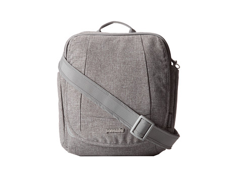Pacsafe - MetroSafe 200 GII Anti-Theft Shoulder Bag (Tweed Grey) Computer Bags