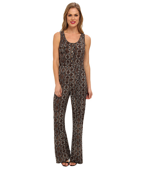 Calvin Klein - Printed MJ Jumpsuit (Multi) Women's Jumpsuit & Rompers One Piece