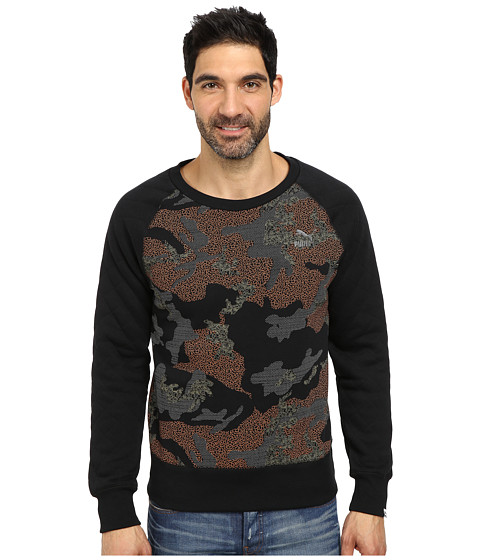 PUMA - Camo Graphic Sweat (Black) Men