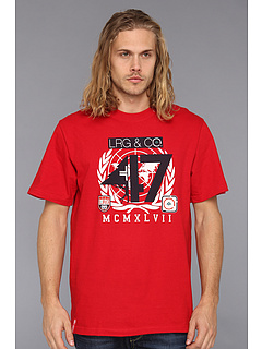 SALE! $17.99 - Save $10 on L R G 47th Nation Tee (Red) Apparel - 35.75% OFF $28.00
