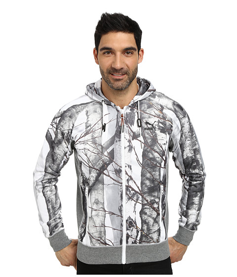 PUMA - Photo Real Camo Hoody (White) Men