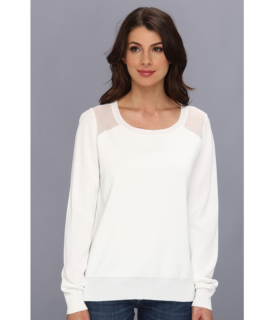 Townsen - Sand Dollar Sweater (White) Women's Sweater
