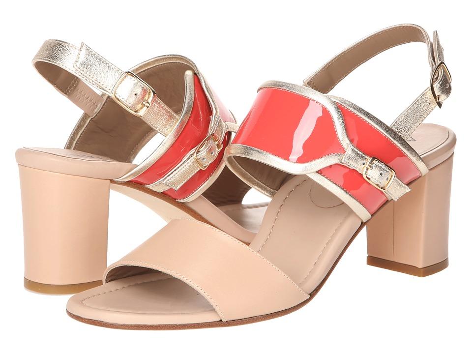 Anyi Lu - Maria (Bisque/Papaya) Women's Shoes