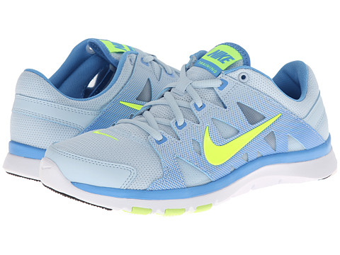 Nike - Flex Supreme TR II (Antarctica/University Blue/Black/Volt) Women's Cross Training Shoes