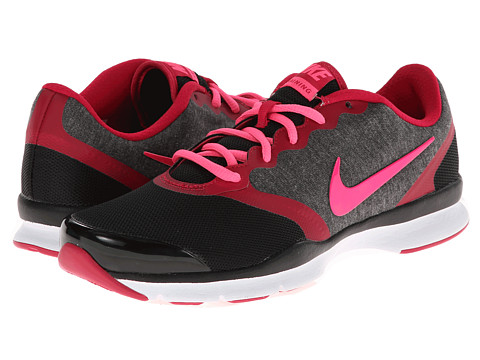 Nike - In-Season TR 4 (Black/Fuchsia Force/Cool Grey/Hyper Pink) Women