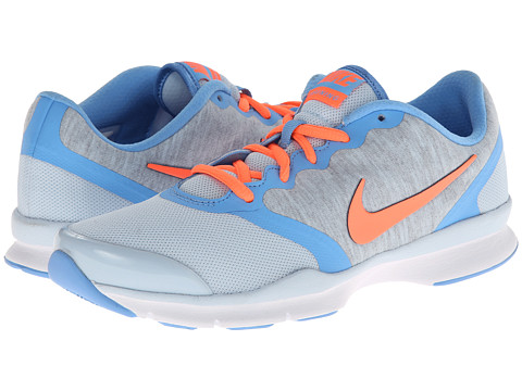 Nike - In-Season TR 4 (Antarctica/University Blue/Cool Grey/Bright Mango) Women's Cross Training Shoes