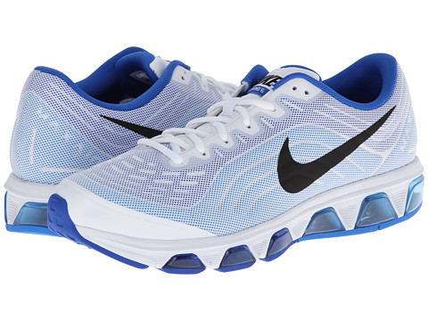 premium selection 8203c 9536c ... Running Shoe White  UPC 886059969013 product image for Nike Air Max  Tailwind 6 (White Hyper Cobalt
