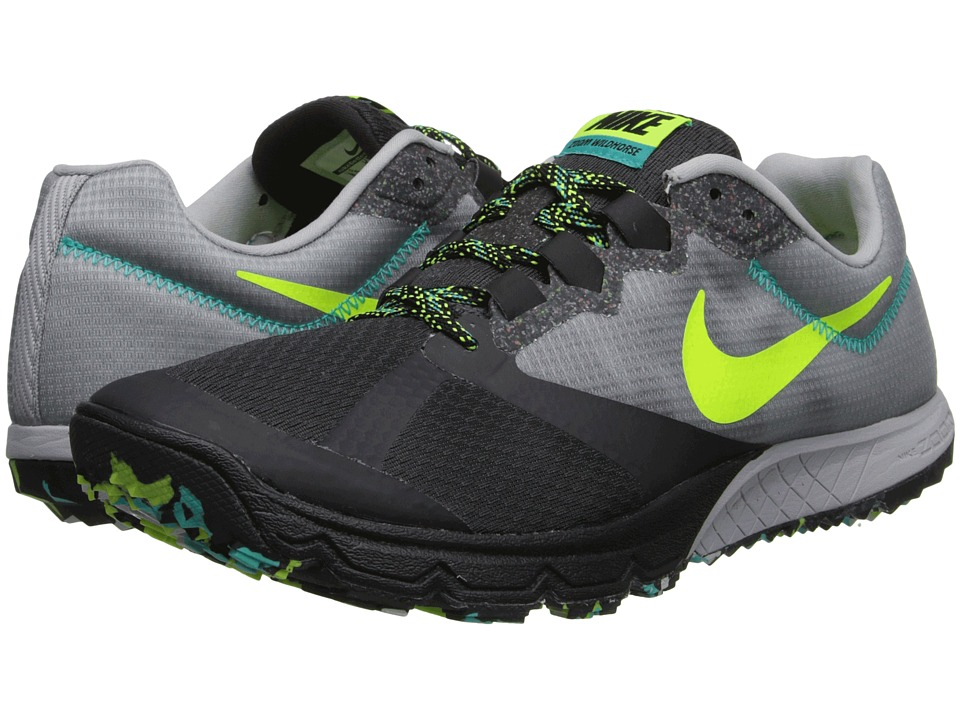 Nike - Zoom Wildhorse 2 (Wolf Grey/Dark Ash/Hyper Jade/Volt) Men's Running Shoes