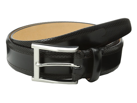 Allen-Edmonds - Dry Head Belt (Black Leather) Men's Belts