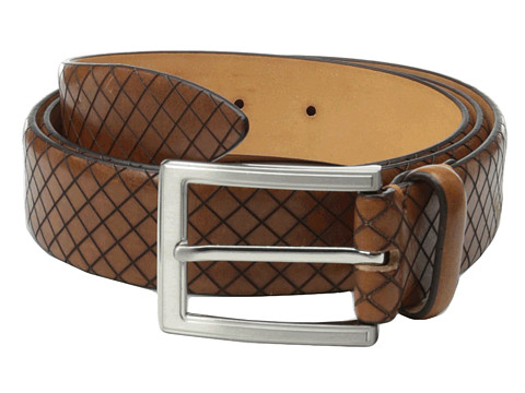 Allen-Edmonds - Cut Bank Belt (Saddle Leather) Men