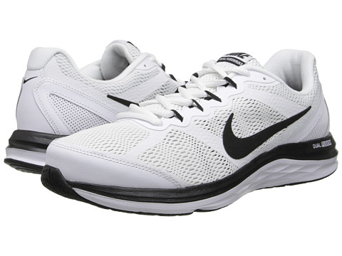 Nike - Dual Fusion Run 3 (White/Wolf Grey/Black) Men