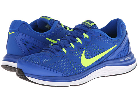 Nike - Dual Fusion Run 3 (Hyper Cobalt/University Blue/White/Volt) Men's Running Shoes