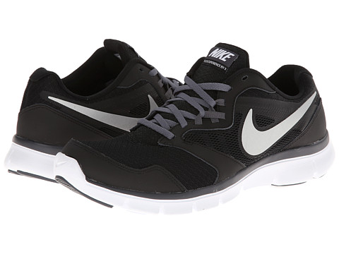 Nike - Flex Experience Run 3 (Black/Dark Grey/White/Metallic Silver) Men's Running Shoes