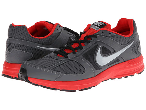 Nike Air Relentless 3 (Dark Grey/Challenge Red/Black/Metallic Silver) Men's Running Shoes