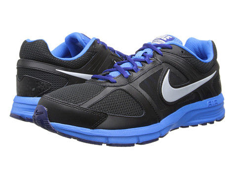Nike Air Relentless 3 (Black/Photo Blue/Deep Royal Blue/Metallic Silver) Men's Running Shoes