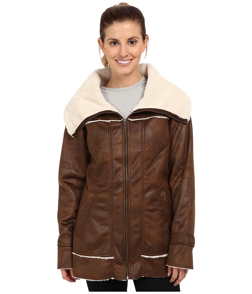 Prana - Tricia Jacket (Coffee) Women's Coat