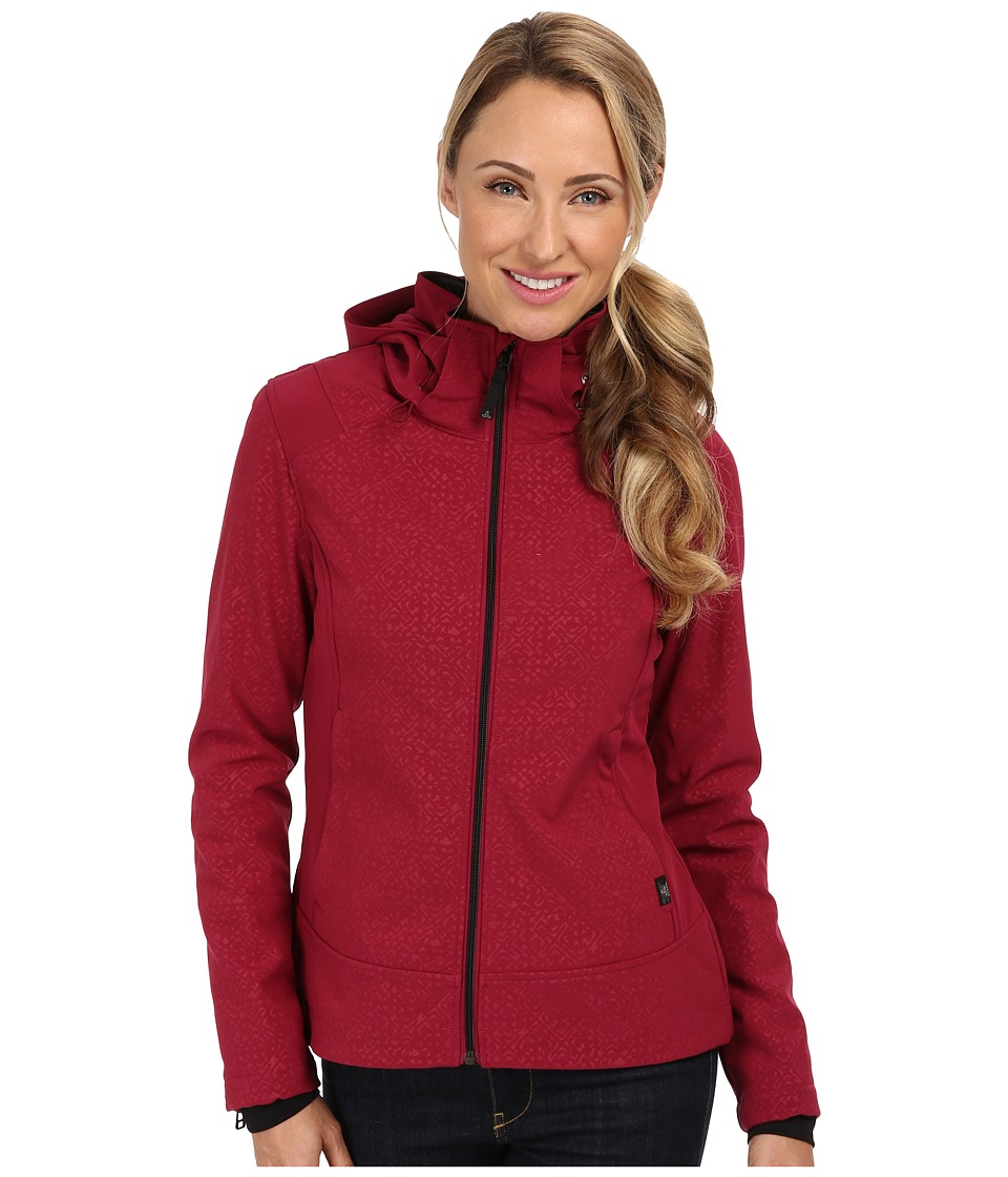 Prana - Sinta Jacket (Plum Red) Women's Coat