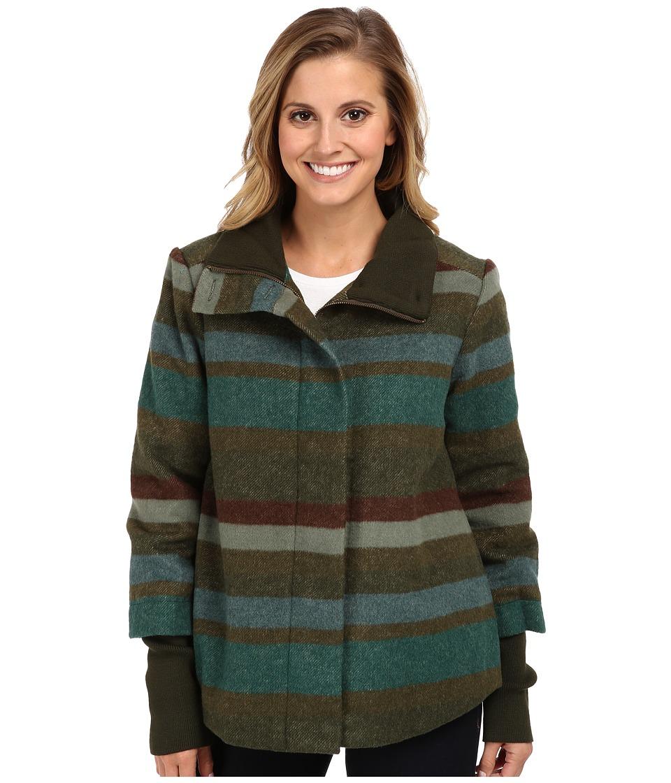 Prana - Lily Jacket (Cargo Green) Women's Coat