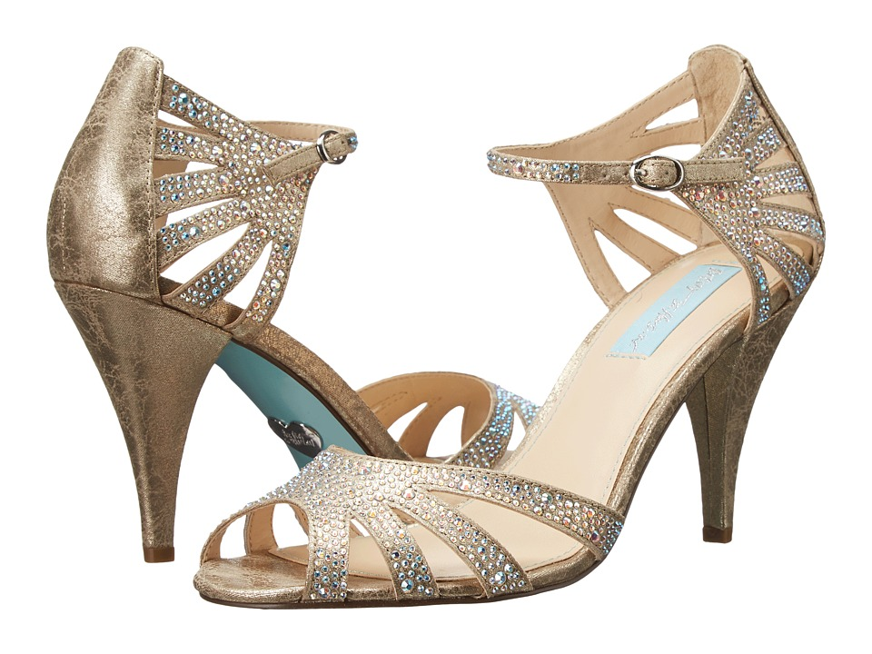 Blue by Betsey Johnson - Sweet (Champagne Fabric) High Heels