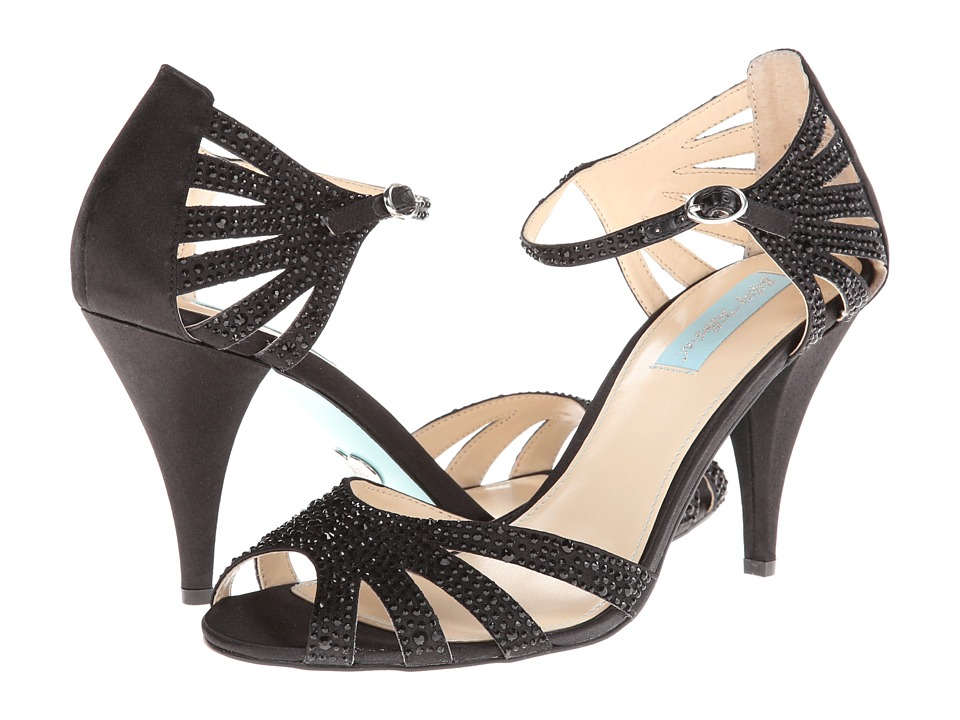 Blue by Betsey Johnson - Sweet (Black Multi) High Heels
