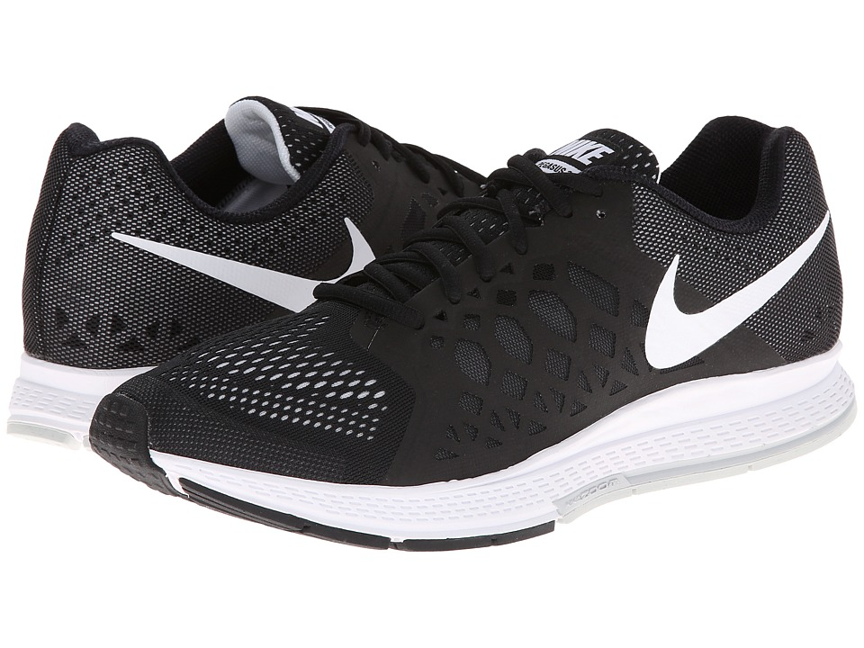 Nike - Zoom Pegasus 31 (Black/Dark Grey/White) Women's Running Shoes