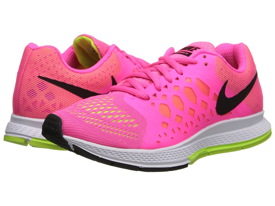 Nike - Zoom Pegasus 31 (Hyper Pink/Volt/Black) Women's Running Shoes