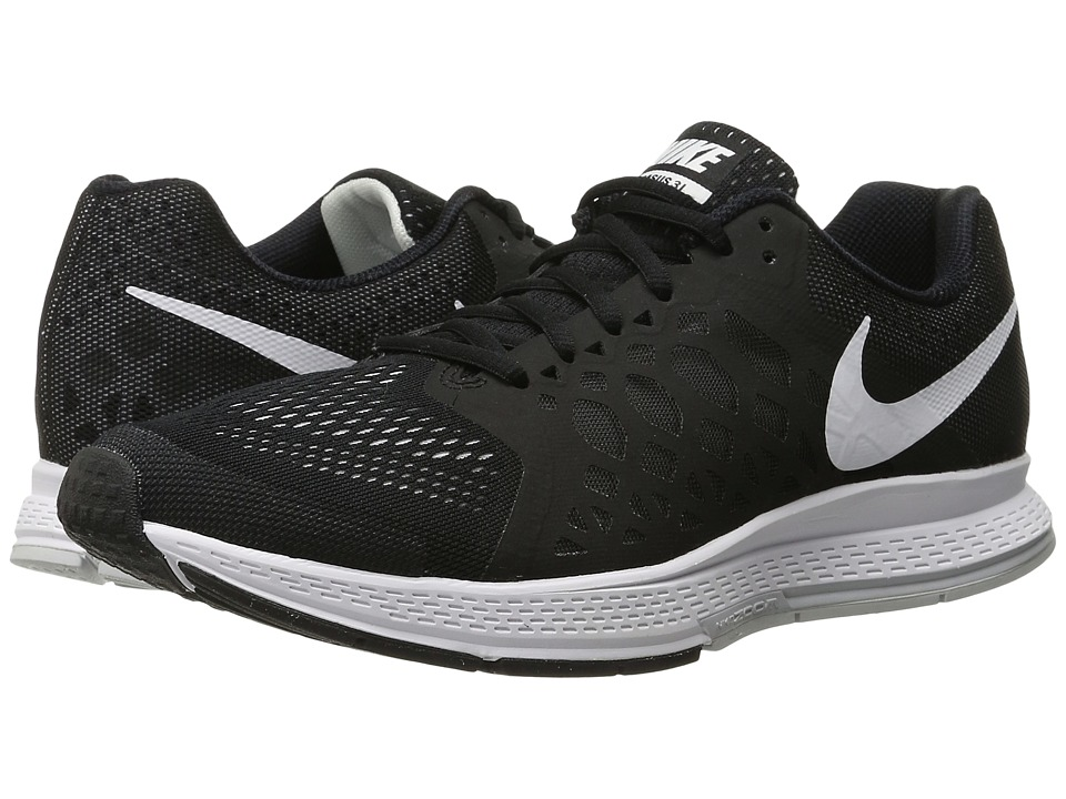 Nike - Zoom Pegasus 31 (Black/White) Men
