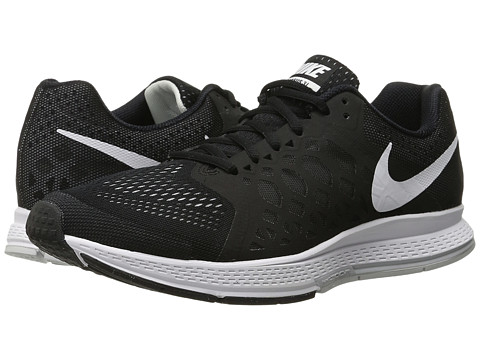Nike - Zoom Pegasus 31 (Black/White) Men's Running Shoes