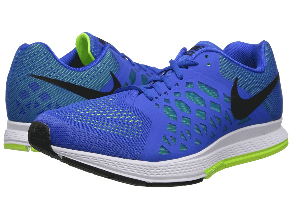 Nike - Zoom Pegasus 31 (Hyper Cobalt/Volt/Black) Men's Running Shoes