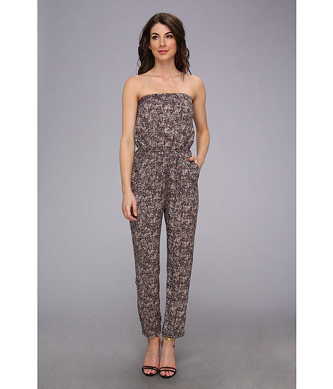 BCBGeneration - Woven Sportswear Jumper (Lightwave) Women's Jumpsuit & Rompers One Piece