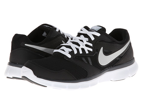 Nike - Flex Experience Run 3 (Black/Dark Grey/Light Magnet Grey/Metallic Silver) Women's Running Shoes