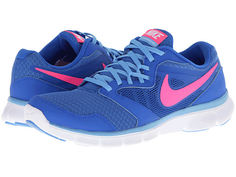 Nike - Flex Experience Run 3 (Hyper Cobalt/University Blue/White/Hyper Pink) Women's Running Shoes