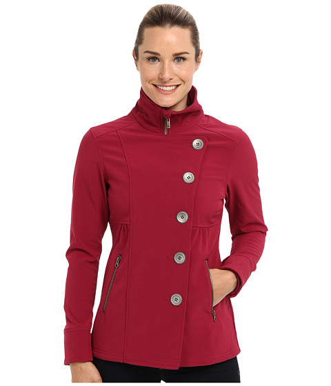 Prana - Martina Jacket (Plum Red) Women's Coat