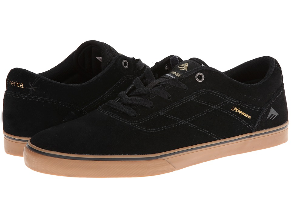 Emerica - The Herman G6 Vulc (Black/Gum) Men