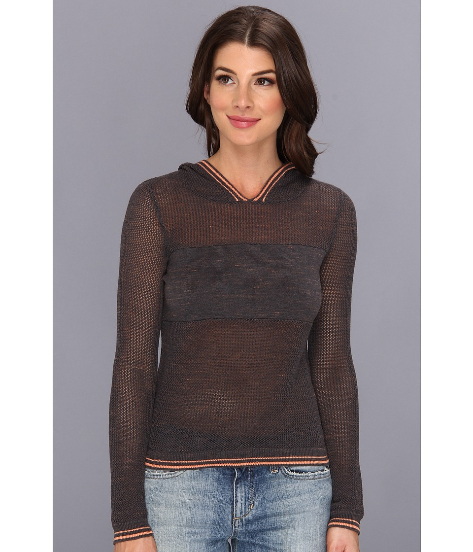 BCBGeneration - Christie Knit Sweater Top (Licorice Combo) Women's Sweater