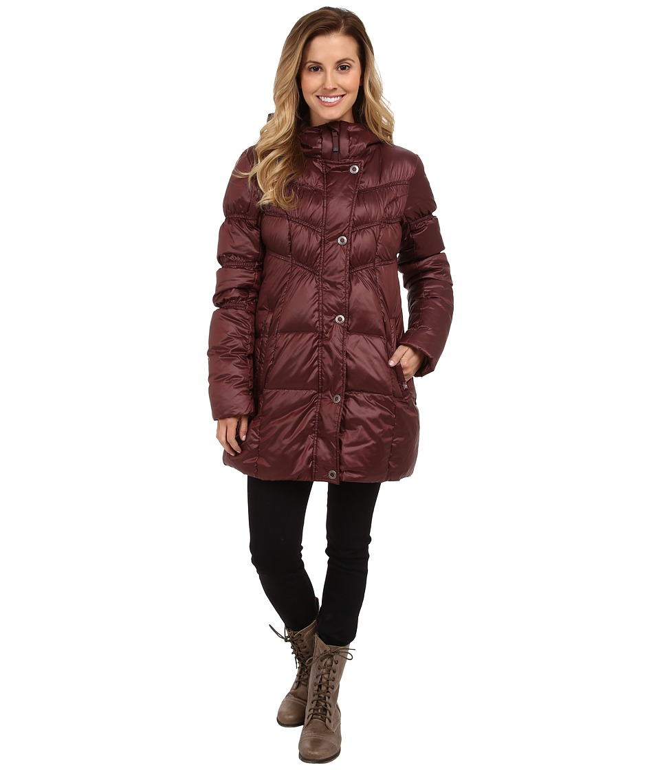 Prana - Milly Down Jacket (Mahogany) Women's Coat