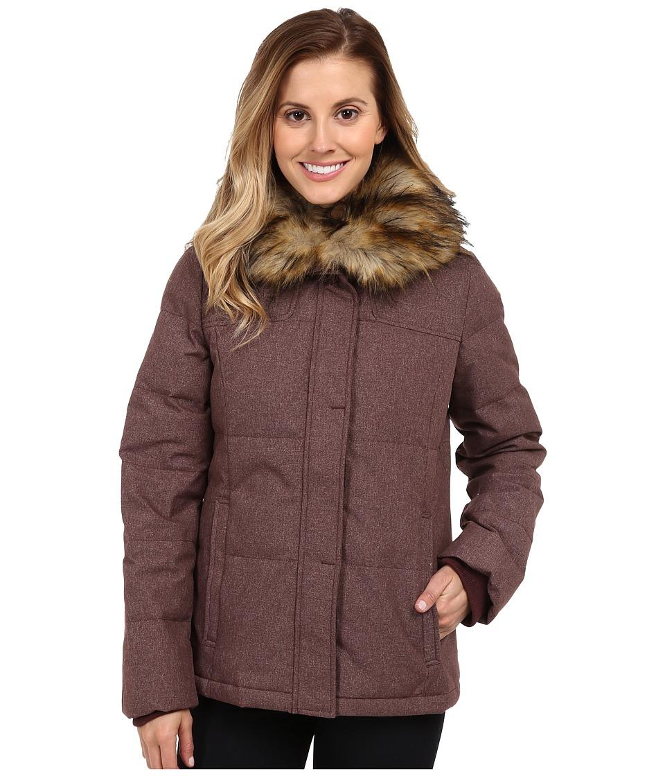 Prana - Jasmine Down Jacket (Mahogany) Women's Coat