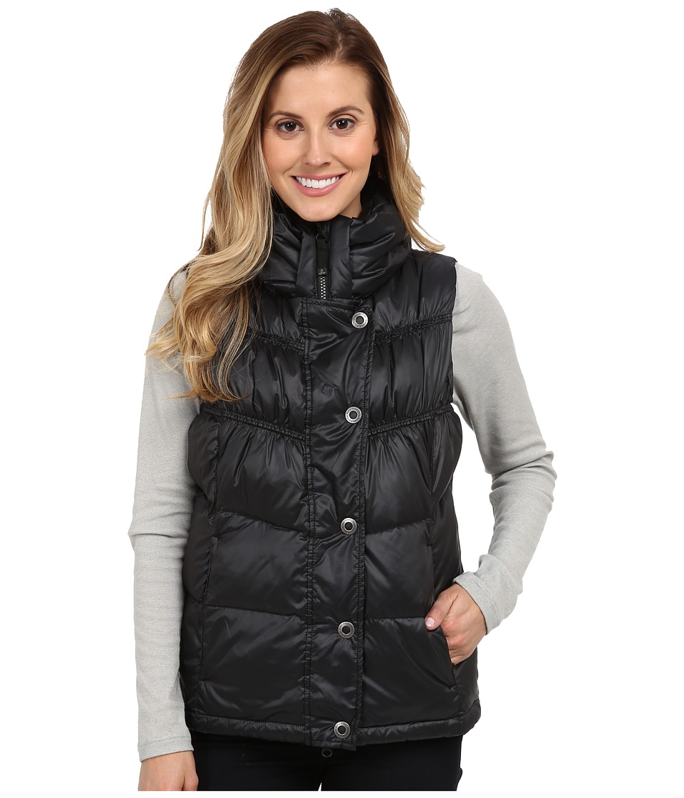 Prana - Milly Down Vest (Black) Women